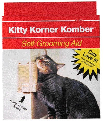 8. Sentry HC Groom'n Comb/with Catnip Pouch
