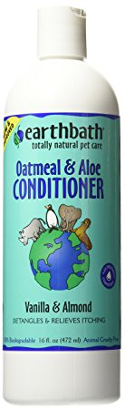 1. Earthbath Oatmeal and Aloe Conditioner