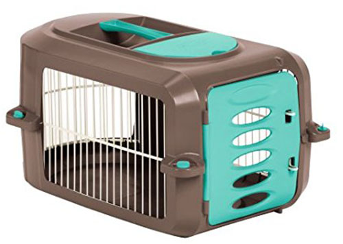 10. Suncast 23 in. Deluxe Pet Carrier, large