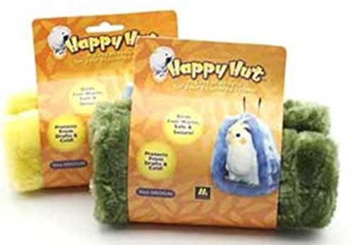 2. Multipet Happy Hut Plush Cage