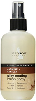 10. Everyday Isle of Dogs Silky Coating Dog Brush Spray