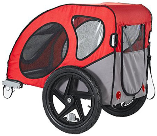 9. Petego Kasco Wagon Bicycle Pet Carrier