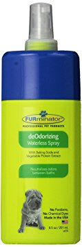 9. FURminator Deodorizing Waterless Dog Spray