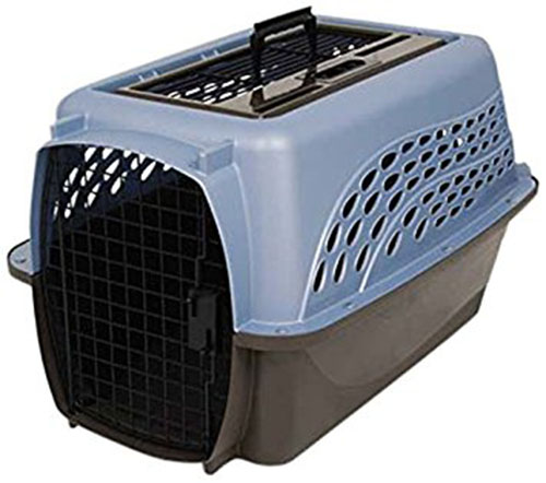 2. Petmate Kennel, Metallic Pearl Ash Blue