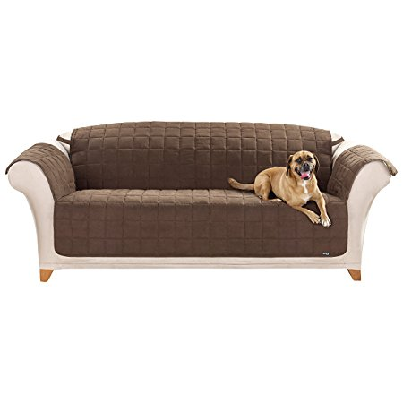 8. Sure Fit Quilted Pet Throw - Sofa Slipcover