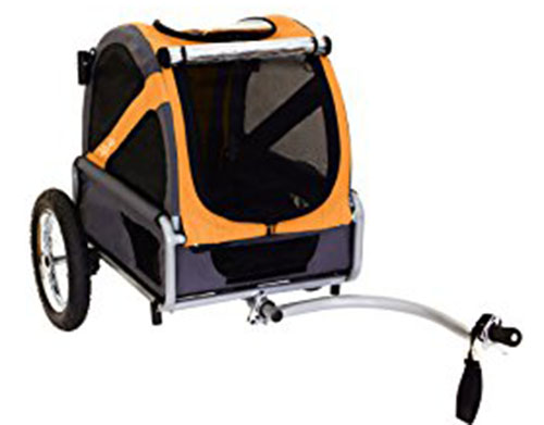 7. DoggyRide Bike Trailer
