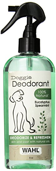 1. Wahl Natural Doggie Deodorant