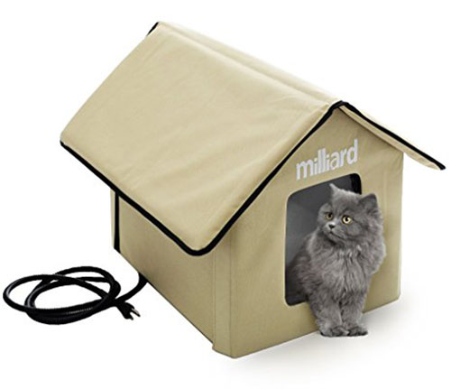 9. Milliard Outdoor Pet House