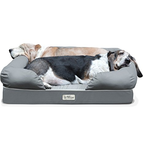1. Lounge in Premium Edition Pet Bed