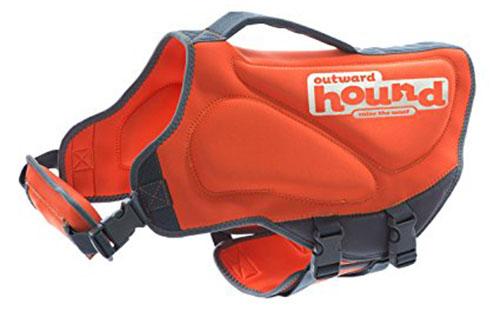 10. Outward Hound Neoprene Dog Life Jacket