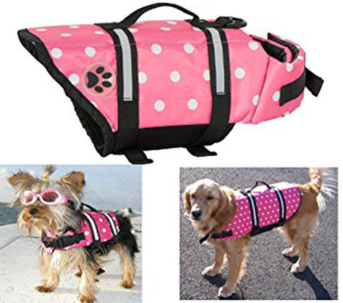 2. Designer Dog Life Jacket