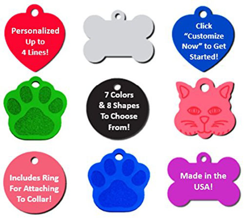2. Vet Recommended Pet ID Tag