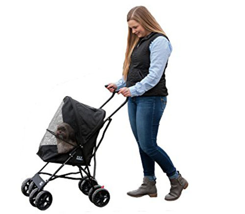 3. Pet Gear Ultra Lite Travel Stroller