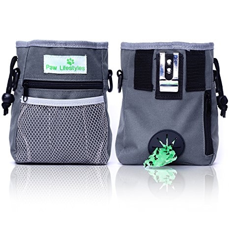 1. Paw Lifestyles Dog Treat Training Pouch