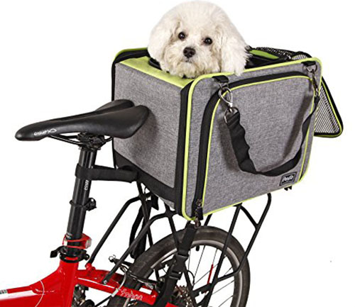 8. Petsfit Pet Carrier For Bicycle
