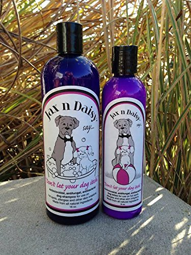 2. Jax N Daisy Dog Shampoo & Lotion