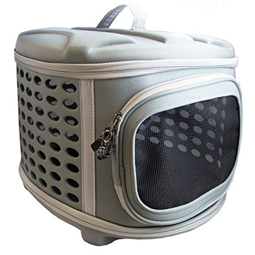 9. Pet Magasin Collapsable Hard Cover Pet Carrier