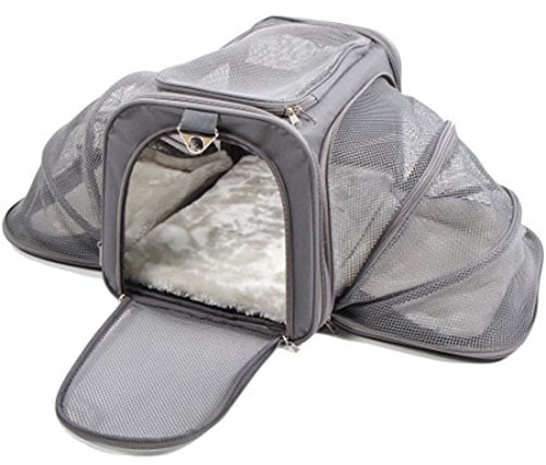 9. Jet Sitter Luxury Soft Sided Pet Carrier