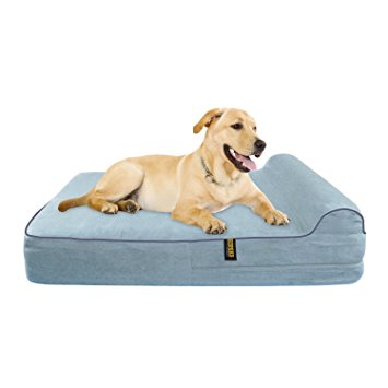 10. KOPEKS 7'' Orthopedic DOG bed with 3'' Pillow