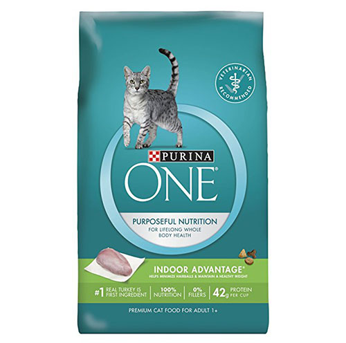 10. Purina ONE Indoor Premium Cat Food