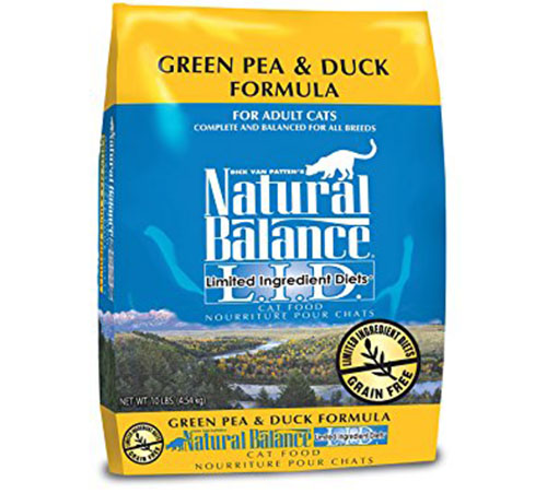 5. Natural Balance Limited Ingredient Dry Cat Food