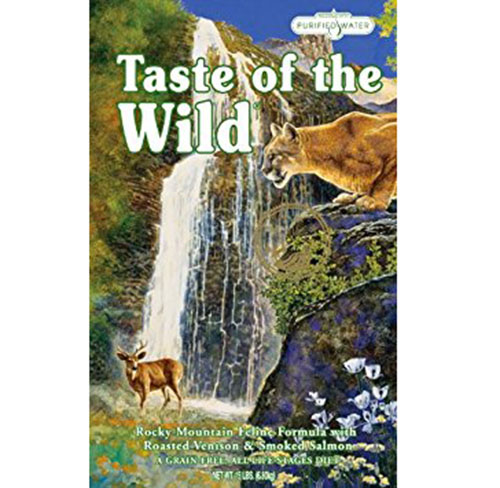 9. Taste of the Wild Cat Food