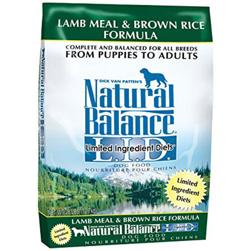 5. Natural Balance Limited Ingredient Diets Dry Dog Food