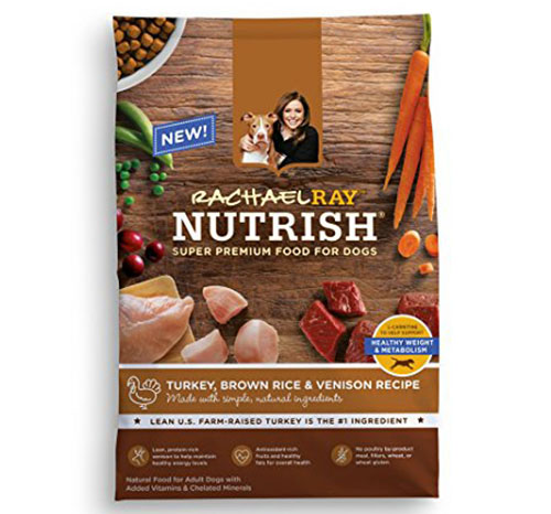 9. Rachael Ray Nutrish Natural Dry Dog Food