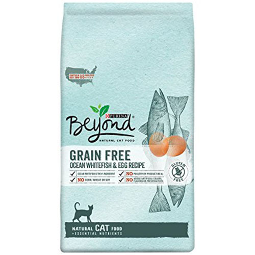 6. Purina Beyond Natural Grain Recipe Dry Cat Food