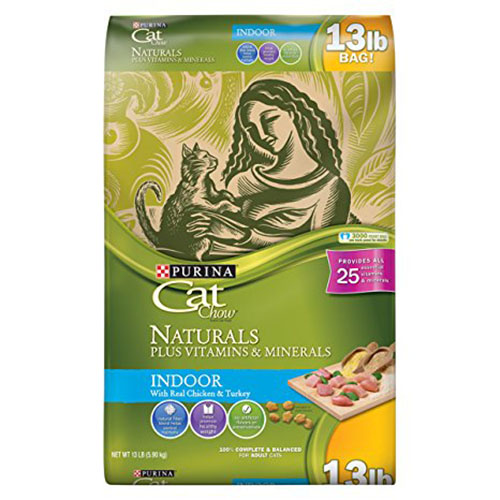 7. Purina Cat Chow Naturals Indoor Dry Cat Food