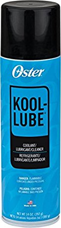 5. Oster Kool Lube iii spray coolant