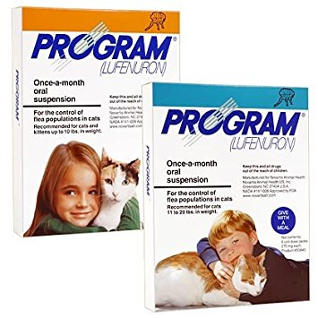 9. Program Oral Suspension 12pk Orange Cat