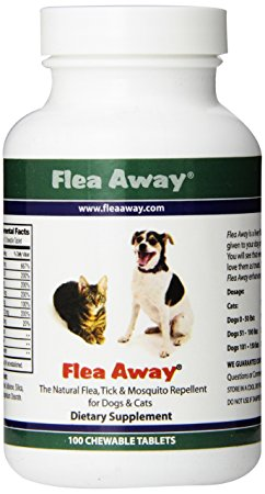 6. Flea Away All- Natural Flea Repellent
