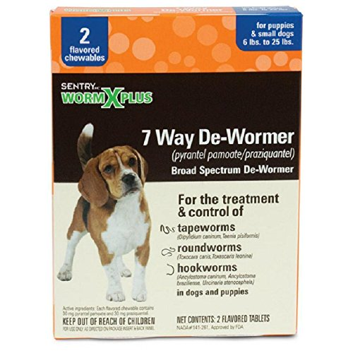 8. Sentry HC WormX Plus Dog Dewormer