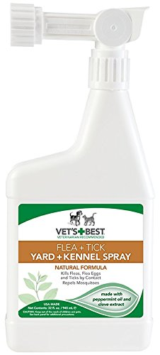 2. Vet's Best Flea & Tick Yard & Kennel Spray