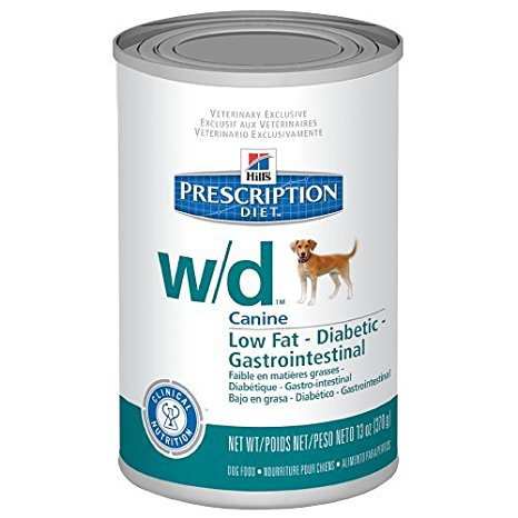 8. Hill's Prescription Diet w/d Canine Low Fat