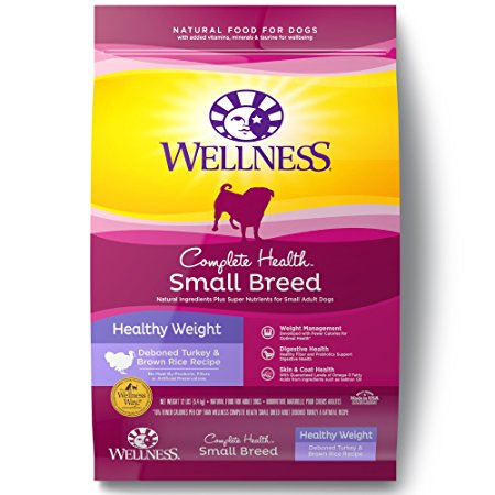 1. Wellness Complete Health Natural Dry Small Breed Dog Food