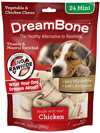 6. DreamBone Chicken Dog Chew