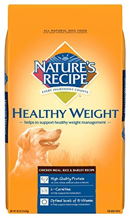 7. Nature's Recipe Healthy Weight Dry Dog Food