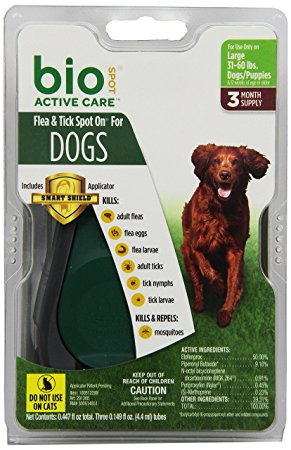 6. Bio Spot Active Care Flea & Tick Spot On