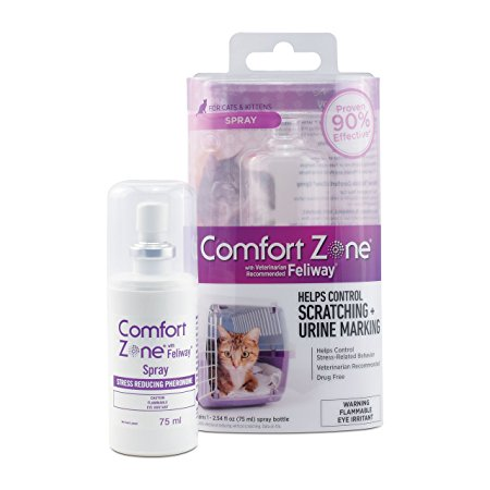 9. Comfort Zone Feliway Spray for Cat Calming