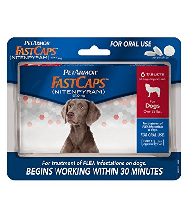 4. PetArmor 6 Count- FastCaps for Dogs