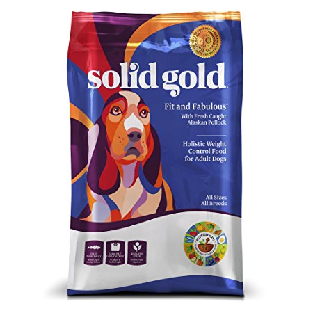 10. Solid Gold Holistic Weight Control Dog Food with Superfoods