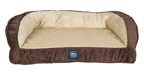 10. Serta Orthopedic Quilted Couch