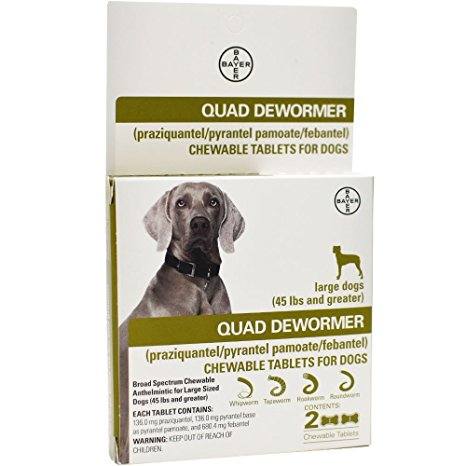 7. Quad Dewormer for Large Dogs