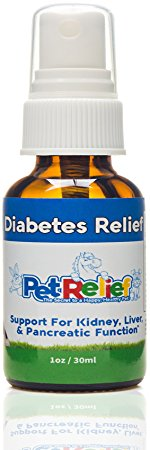 6. PET RELIEF Diabetes In Dogs, Diabetic Supplies For Dogs