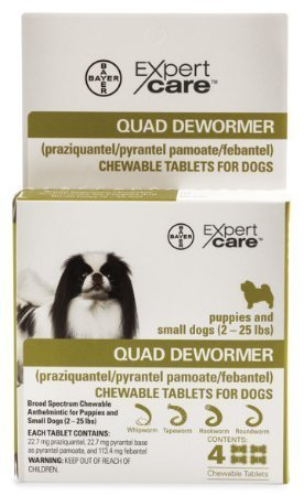 9. Quad Dewormer Small Dogs