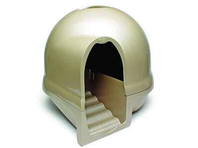 7. Petmate Clean Step Litter Dome