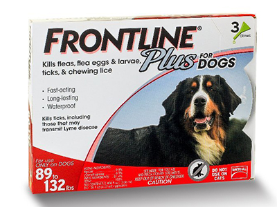 8. Frontline Plus Flea and Tick Control