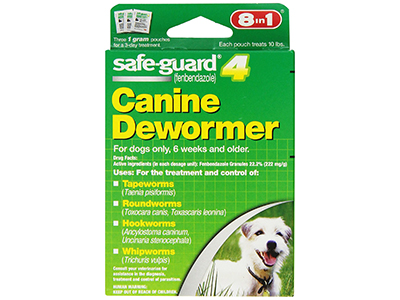 2. Safe-Guard Canine Dewormer (Green)